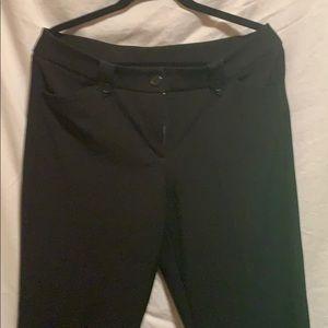 Ladies Nine West Business Pants Black size 10